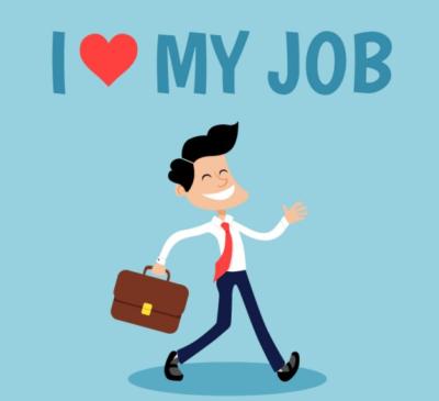 I love my job(caputre image)